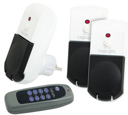 Funksteckdosen-Starter-Set, für außen, 4-teilig