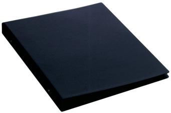 Ringbuch Standard, A3 quer, schwarz, 4-Ring-