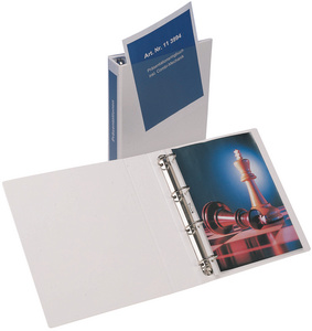 Präsentations-Ringbuch Economic, A4, weiß, 4 Ring-