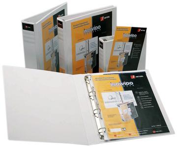 Präsentations-Ringbuch Individo, A4, weiß, 4 Ring-