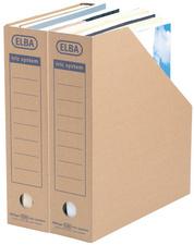 Archiv-Stehsammler tric System, naturbraun
