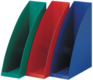 Stehsammler go-box, aus Kunststoff, rot