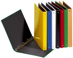Ringbuch Basic Colours, 4 Ring-Mechanik, rot