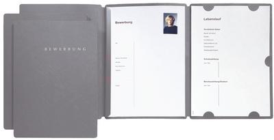 Bewerbungsmappe Select, DIN A4, im Thekendisplay
