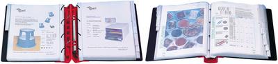 ERGOGRIP Präsentations-Ordner, 38 mm, farbig sortiert