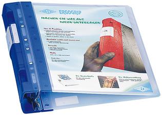 ERGOGRIP Präsentations-Ordner ICE, 56 mm, ICE-blau