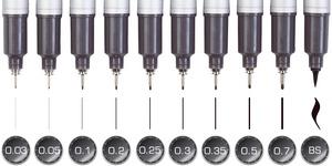 MULTILINER SP 0,05 mm, schwarz