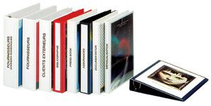 Präsentations-Ringbuch, DIN A4, rot, 4-Ring