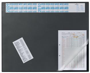 Schreibunterlage mit Jahreskalender, dunkelblau